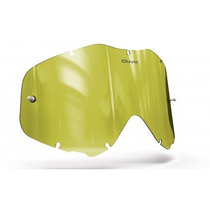 plexi pro brýle SPY KLUTCH, OnyxLenses (Hi-Vis žluté s polarizací)