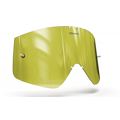 plexi pro brýle THOR COMBAT/SNIPER/CONQUER, OnyxLenses (Hi-Vis žluté s polarizací)