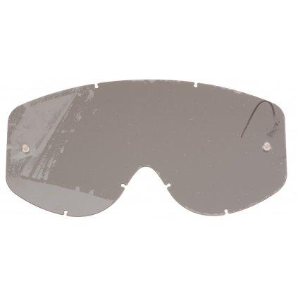 plexi pro brýle N3/N1, NOX (kouřové, s přípravou pro strhávací slídy)