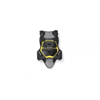 chránič těla DEFENDER BACK AND CHEST 170/180, SPIDI - Itálie (černý/žlutý)