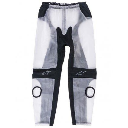 kalhoty RACING RAIN 2021, ALPINESTARS (čiré/černé)