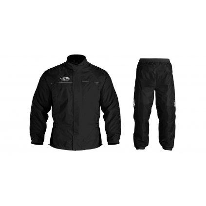 bunda a kalhoty RAIN SEAL, OXFORD (černá)