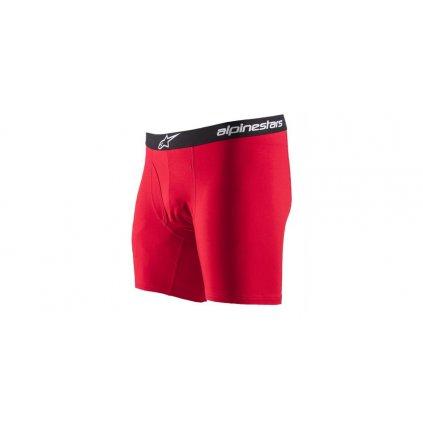 trenýrky COTTON BRIEF, ALPINESTARS (červená, bavlna)