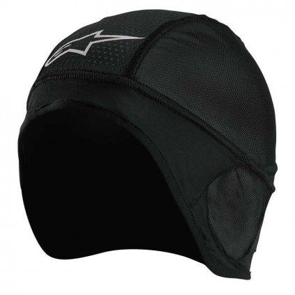 čepice pod přilbu SKULL CAP BEANIE, ALPINESTARS (černá)