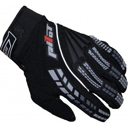 rukavice PIONEER, PILOT (černá)