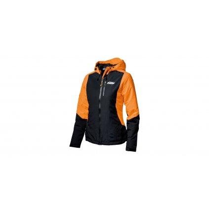 bunda WOMAN ORANGE JACKET KTM, dámská (oranžová/černá)