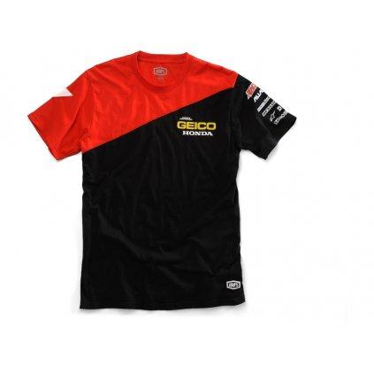 triko Bias Geico Honda, 100% (černá)