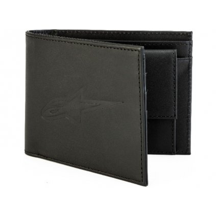 peněženka AGELESS LEATHER WALLET, ALPINESTARS (černá, kůže)