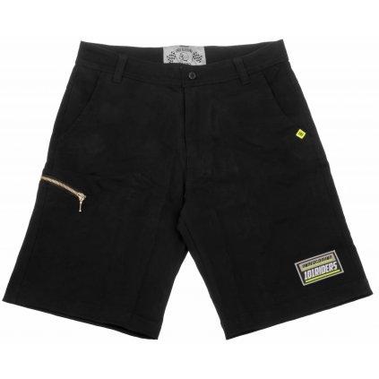 kraťasy Black Shorts 18, 101 RIDERS - ČR (černé)