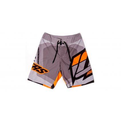 kraťasy LIFE Boardshorts, 101 RIDERS (černá, šedá, oranžová)