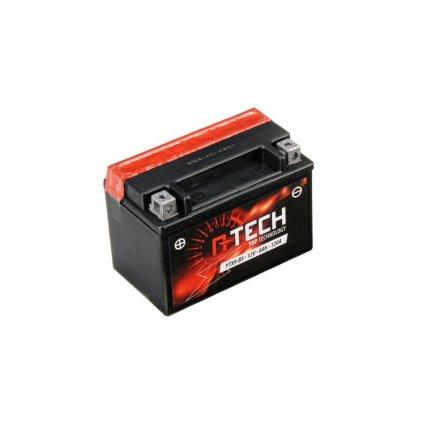 baterie 12V, YTX9-BS, 8Ah, 120A, bezúdržbová MF AGM 150x87x105, A-TECH (vč. balení elektrolytu)