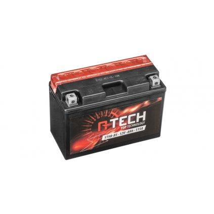 baterie 12V, FT9B-4 SLA, 8Ah, 115A, bezúdržbová MF AGM 150x70x105, FULBAT (vč. balení elektrolytu)