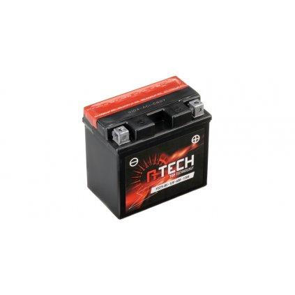 baterie 12V, YTZ7S-BS, 6Ah, 130A, bezúdržbová MF AGM 113x70x105, A-TECH (vč. balení elektrolytu)