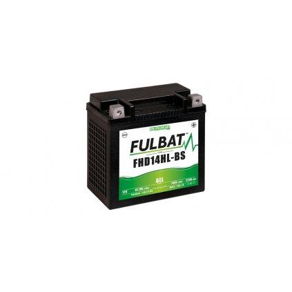 baterie 12V, FHD14HL-BS GEL, 14,7Ah, 220A,bezúdržbová GEL technologie, FULBAT 150x87x145 (aktivovaná ve výrobě)