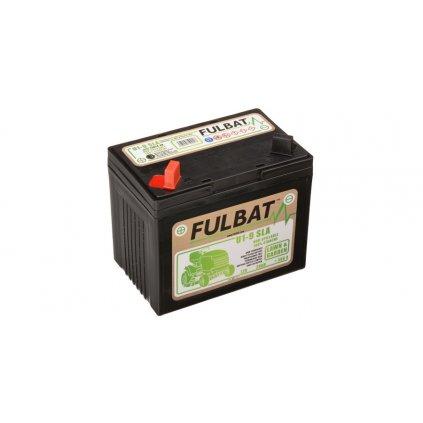baterie 12V, U1-9 SLA, 28Ah, 300A, levá, bezúdržbová MF AGM, 195x125x176, FULBAT (aktivovaná ve výrobě)