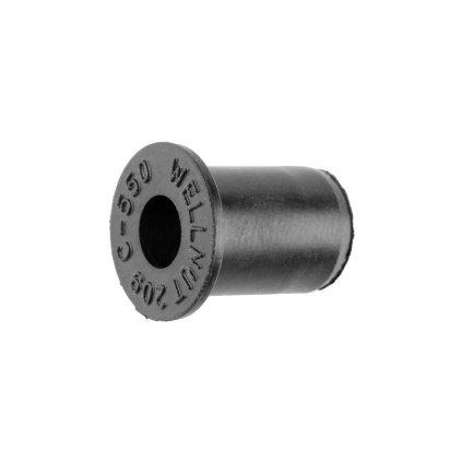 gumová matice se závitem M5 x 0,8 mm (sada 5 ks), Tourmax