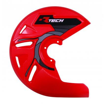 kryt předního kotouče, RTECH (červený)