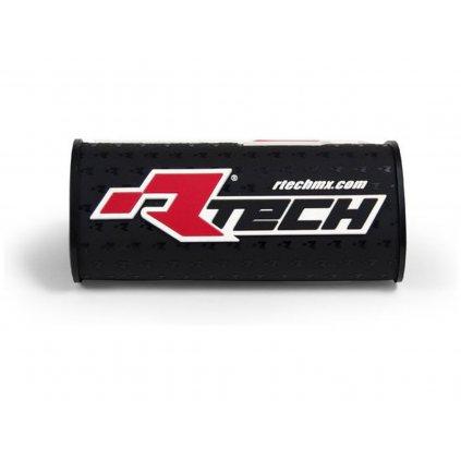 """chránič na bezhrazdová řídítka s nápisem """"Rtech"""" (pro průměr 28,6 mm), RTECH (černý)"""