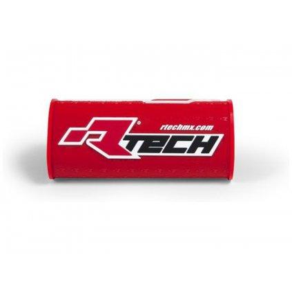 """chránič na bezhrazdová řídítka s nápisem """"Rtech"""" (pro průměr 28,6 mm), RTECH (červený)"""