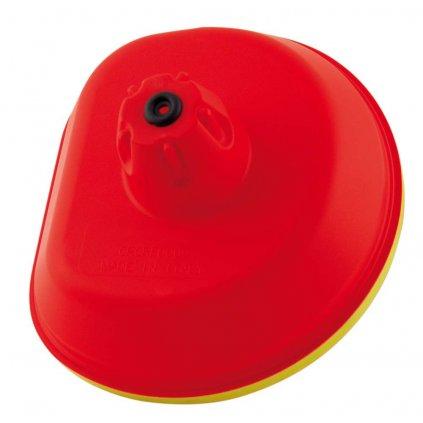 vrchní kryt vzduchového filtru Honda, RTECH (červeno-žlutý)