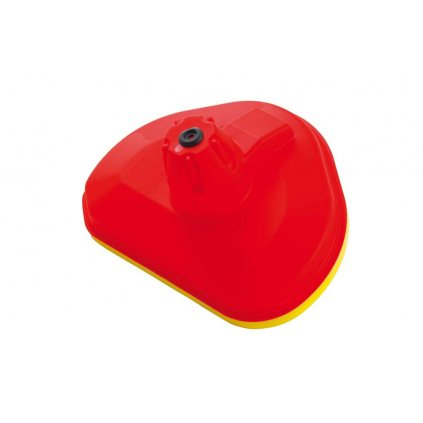 vrchní kryt vzduchového filtru Honda/Kawasaki, RTECH (červeno-žlutý)