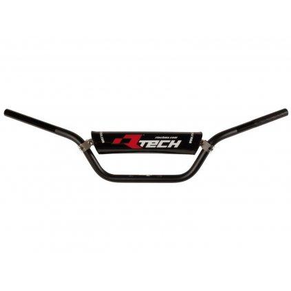 řídítka (ATV) o průměru 22 mm s hrazdou a chráničem, RTECH (černá)