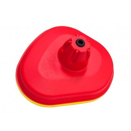 vrchní kryt vzduchového filtru Kawasaki, RTECH (červeno-žlutý)
