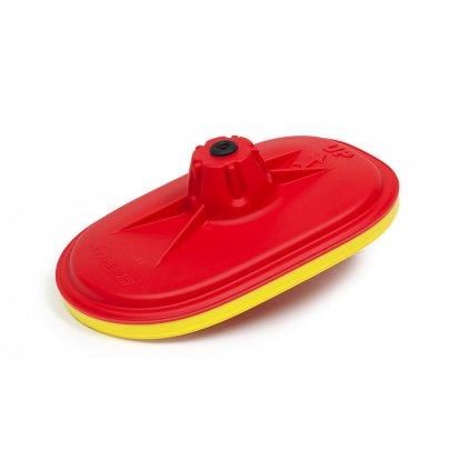 vrchní kryt vzduchového filtru Honda RTECH (červeno-žlutý)
