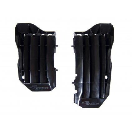 žaluzie chladiče Honda, RTECH (černé, pár)