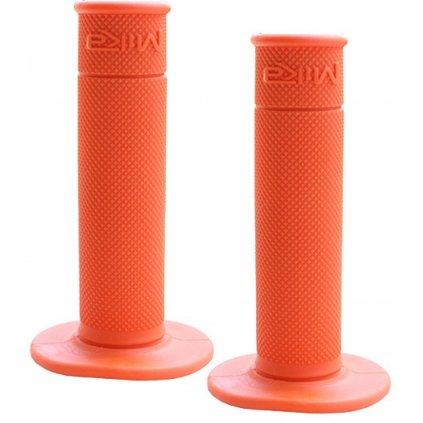 """gripy motokrosové """"50/50 WAFFLE GRIPS"""" (soft), MIKA (oranžová)"""