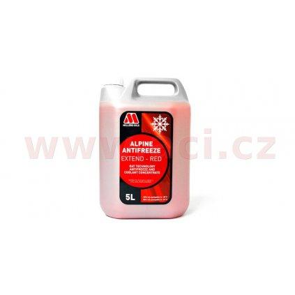 MILLERS OILS Alpine Antifreeze Extend - Red - nemrznoucí kapalina s prodlouženou životností s antikorozními účinky 5 l