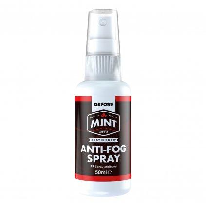 MINT antifog sprej proti mlžení plexi, aplikátor s rozprašovačem 50 ml