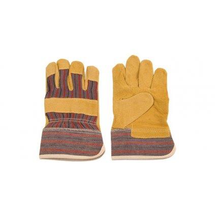 Pracovní rukavice kožené (univerzální velikost)