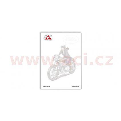 Blok ACI formát A5 (střední) - varianta MOTO