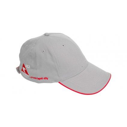 Čepice s kšiltem - baseball šedá ACI