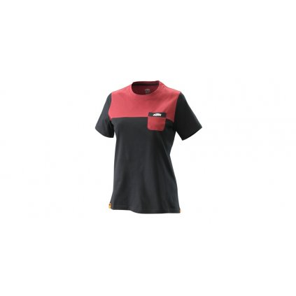 dámské tričko PURE, KTM (černé)
