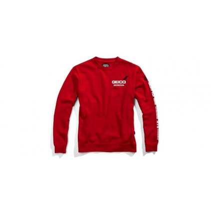 mikina SECT, 100% (červená)