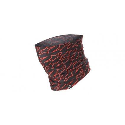nákrčník ASTARS NECK TUBE, ALPINESTARS (černá/červená)
