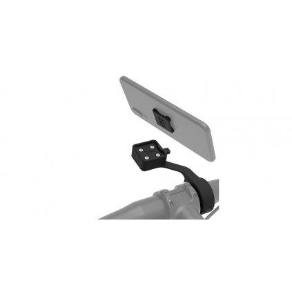 držák mobilních telefonů/kamer/navigací CLIQR s předsazením, sada pro upevnění na cyklo řídítka, OXFORD