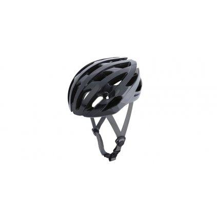 cyklo přilba RAVEN ROAD, OXFORD (černá/šedá)