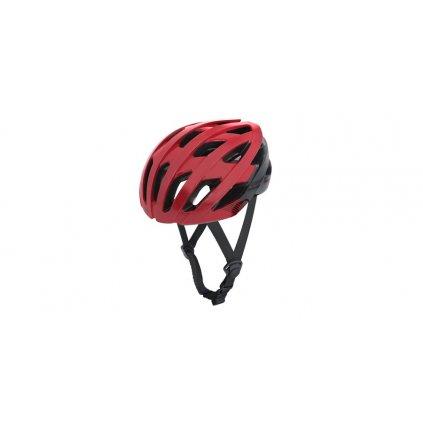 cyklo přilba RAVEN ROAD, OXFORD (červená/černá)