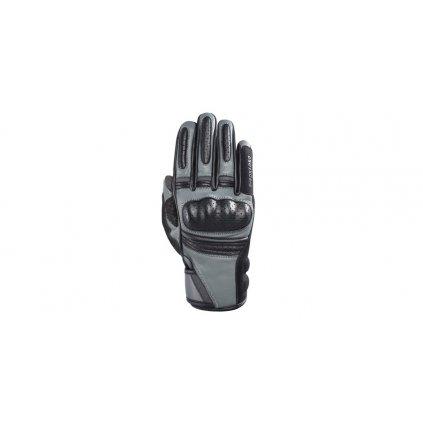 rukavice ONTARIO, OXFORD, dámské (šedá/černá)