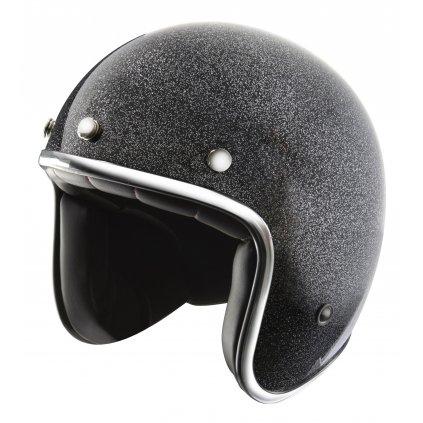 přilba N242, NOX (černá metalická)