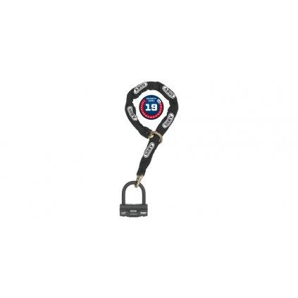 řetěz + zámek Granit (délka 120 cm, tloušťka 12 mm), ABUS