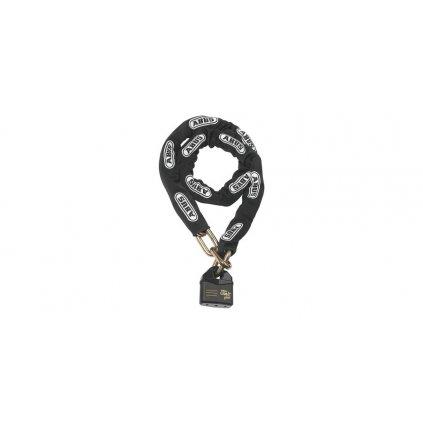 řetěz + zámek (délka 120 cm, tloušťka 14 mm), ABUS