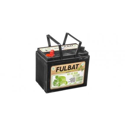 baterie 12V, U1-12 SLA 32Ah, 400A, levá, bezúdržbová MF AGM, 195x125x176, FULBAT (aktivovaná ve výrobě)