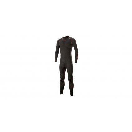 jednodílné spodní prádlo pod kombinézu RIDE TECH LITE 1PC 2020, ALPINESTARS (černá/červená)