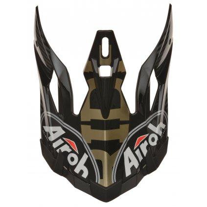 bradový deflektor pro přilby AVIATOR 2.2, AIROH - Itálie