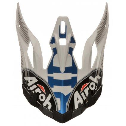 bradový deflektor pro přilby AVIATOR J, AIROH - Itálie