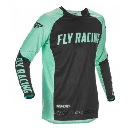 dres EVOLUTION 2021 LE, FLY RACING (mint zelená/černá)